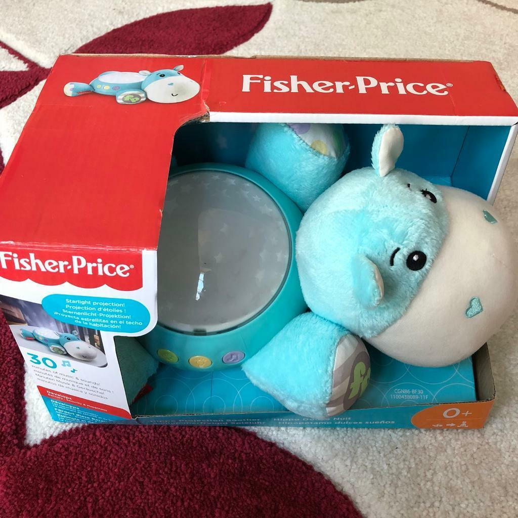 Brand new: Fisher Price Baby Hippo Projector Soother
