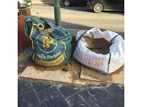 Ballast & sharp sand