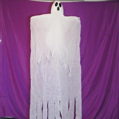 Life Size 7ft Hanging Spooky Ghost~Halloween Yard Tree Decoration~NEW (Halloween Hanging Tree Decorations)