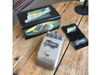 Marshall Jackhammer distortion and overdrive guitar fx pedal.