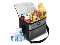 Lunch Bag Picnic Bag Small Capacity Oxford Waterproof with Adjustable Shoulder Strap, for Meal