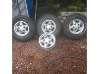 Land Rover defender wheels & rims