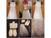 simple but elegant communion dress