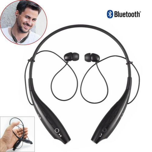 Noise Cancelling Bluetooth Neckband Headphone Sport Handsfre