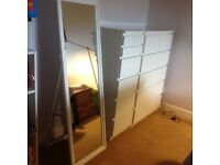White full length mirror