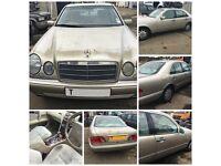 Mercedes E240 Auto 1999 2.4 Smoke Silver 702 Petrol (Front Bumper) all parts available