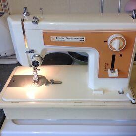Vintage Frister Rossmann sewing machine