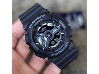 Casio G-Shock Black Unisex 100 % TOP Quality GA-110GB