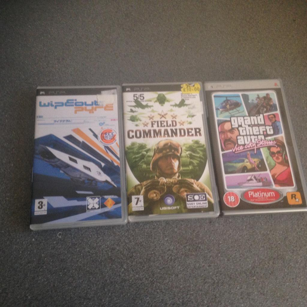 Sony PSP games collection c