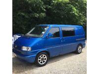 VW T4 transporter campervan. 12 months MOT. £2999