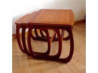 Mid century nesting tables