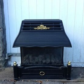 Flavel Emberglow Classic Gas Fire Black