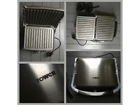 Tower Health T27011 Panini Grill Featuring with Ceramic Non Stick Coating, 180 Degree BARGAIN!!!!