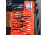 Job lot of pens