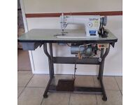 Sewing machine table without head
