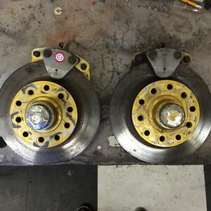 Strange front disc brakes for 55/57 chevy