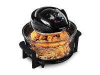 Salter low fat fryer triple power halogen oven cooker