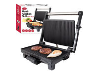 Quest Benross Quest Stainless Steel Panini Sandwich Press, 1200 Watt