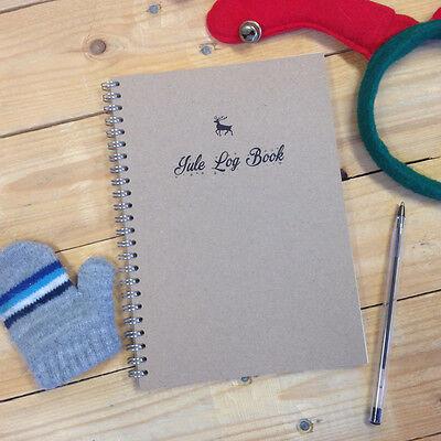 Yule Log Book - Christmas Planner