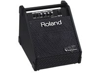 ROLAND V Drums PM-10 monitor in as new condition. Clean drum or keyboard monitor with EQ & line