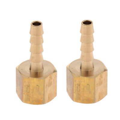 Bsp Anschluss (2 Messing Fitting Schlauch Barb Joint Innengewinde Anschluss 1/4
