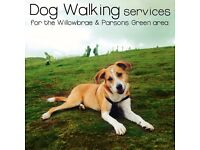 Dog Walking services for the Willowbrae, Parsons Green, Meadowbank Area