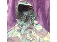 Men's camouflage waterproof jacket