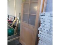 HARDWOOD EXTERIOR FRONT DOOR