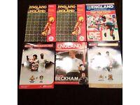 Football Memorabilia Old Magazines and Newspaper Wembley Stadium Antique Batch