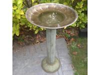 Bird bath (metal)