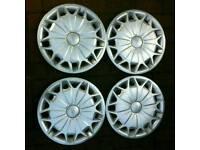 Used 15 inch mk8 transit wheel trims