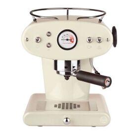 Francis Francis X1 Trio ESE (Easy Serving Espresso) Pod Coffee Machine - Almond