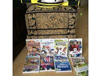 WII PLUS VARIOUS GAMES & Accessories