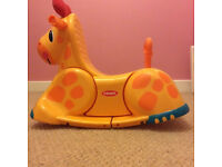 yellow giraffe rocker, great condition, used indoors only. Collection only from Langley Moor.