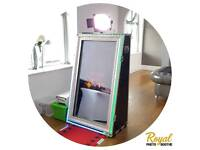 Photobooth hire from £175 for 3 Hrs. Magic Mirror, Selfie Pod And Kids Photo Booth Hire