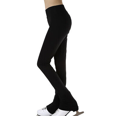 2515c8a6a972a Ice Figure Skating Long Pants Women Girls' Warm Tights Trousers Leggings M