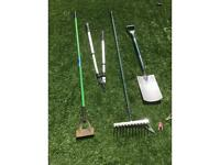 5 piece gardening tools - all for £20