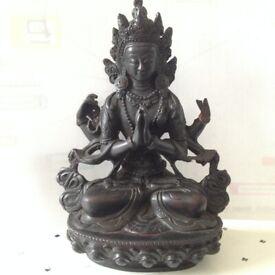 Vintage Indian God Ornament