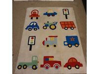 Childrens playroom transport rug
