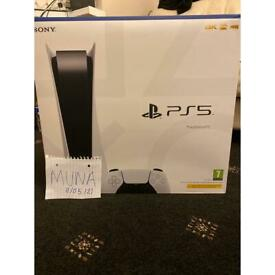 PS5 Disk consoles