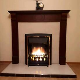 Electric Fire & Fireplace Surround