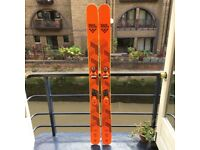 Black Crows Nocta + Rossignol Pivot WTR Bindings