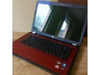 Red HP Laptop g6-1325sa Notebook (Used, recently repaired & refurbished by Team KnowHow)