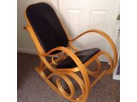 Rocking chair (perfect condition, barely used) £50