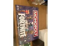 Brand new sealed fortnite monoploy