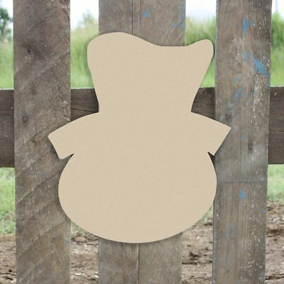 Wooden Snowman Head Shape, Unfinished Shape, Wood Cutout, Wooden - Wooden Snowman