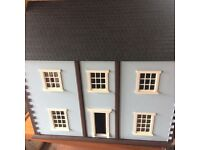 Handmade Victorian style dollhouse
