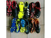 Used rugby boots. Adidas, Nike, Patrick