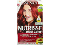 Garnier Nutrisse Ultra Colour 6.60 Fiery Red Hair Dye - from a smoke free place
