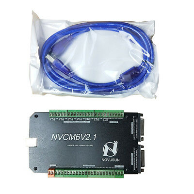 4-axis Mach3 Usb Cnc Motion Controller Card Interface Breakout Board